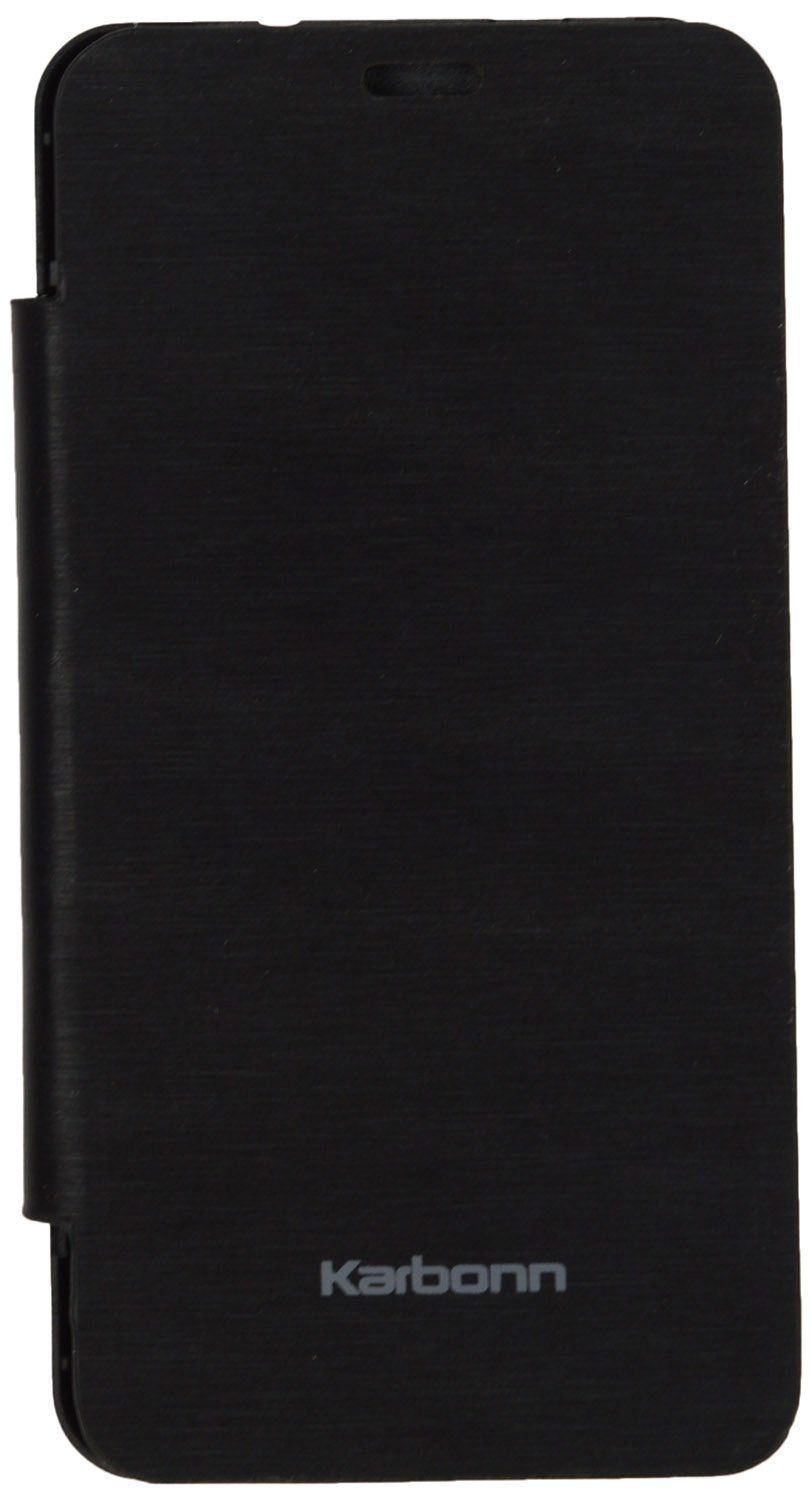 Iway Flip Cover for Karbonn Smart A12 - Black - Flip ...