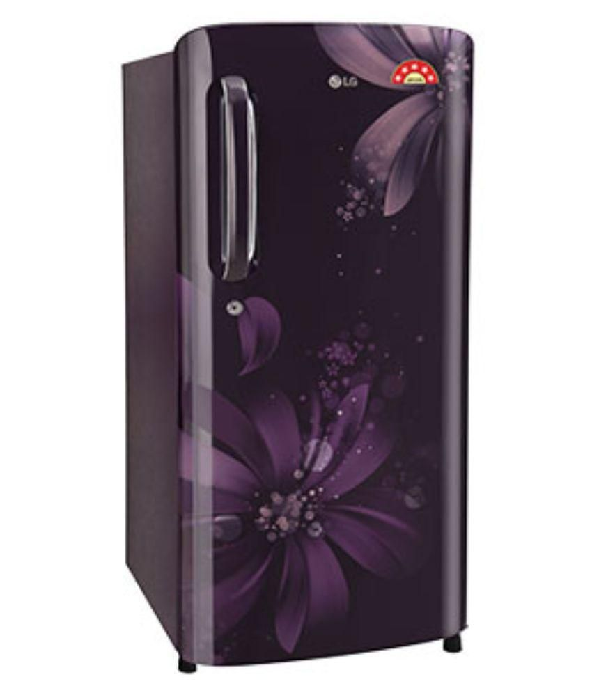 LG 190 GL-B201APAN Direct Cool Single Door Refrigerator Purple