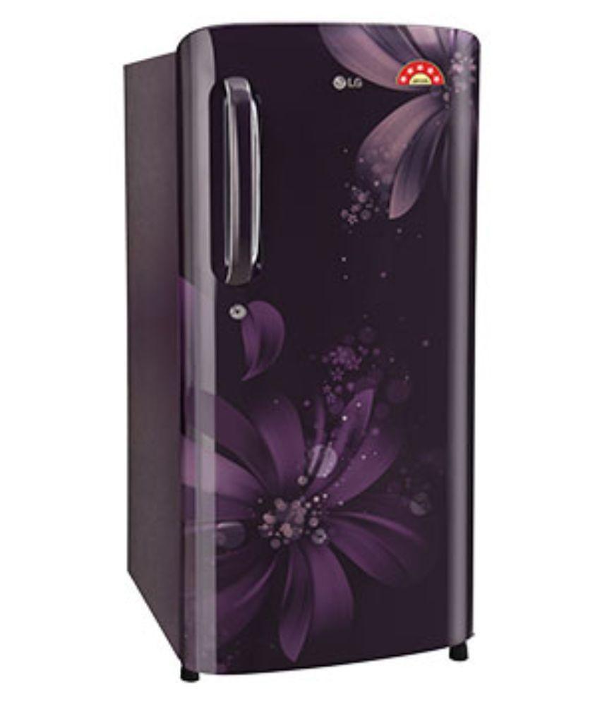 LG 190 GL-B201APAN Direct Cool Single Door Refrigerator Purple