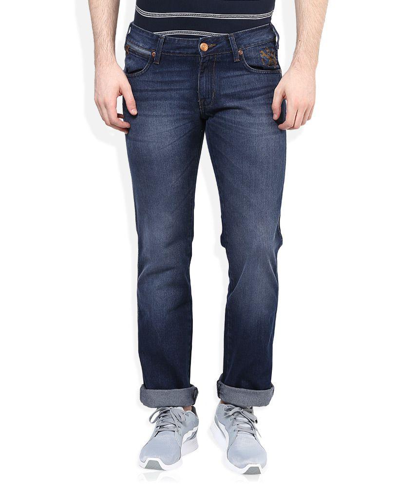 Wrangler Blue Floyd Regular Fit Jeans