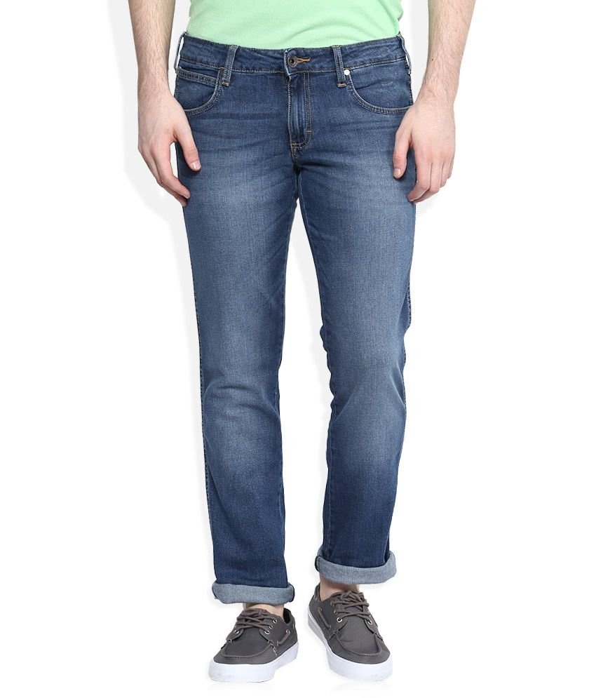 Wrangler Blue Rockville Regular Fit Jeans