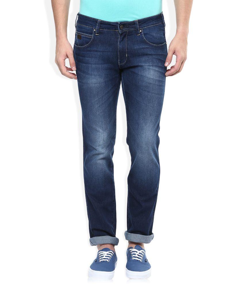 Wrangler Blue Rockville Regular Fit Jeans