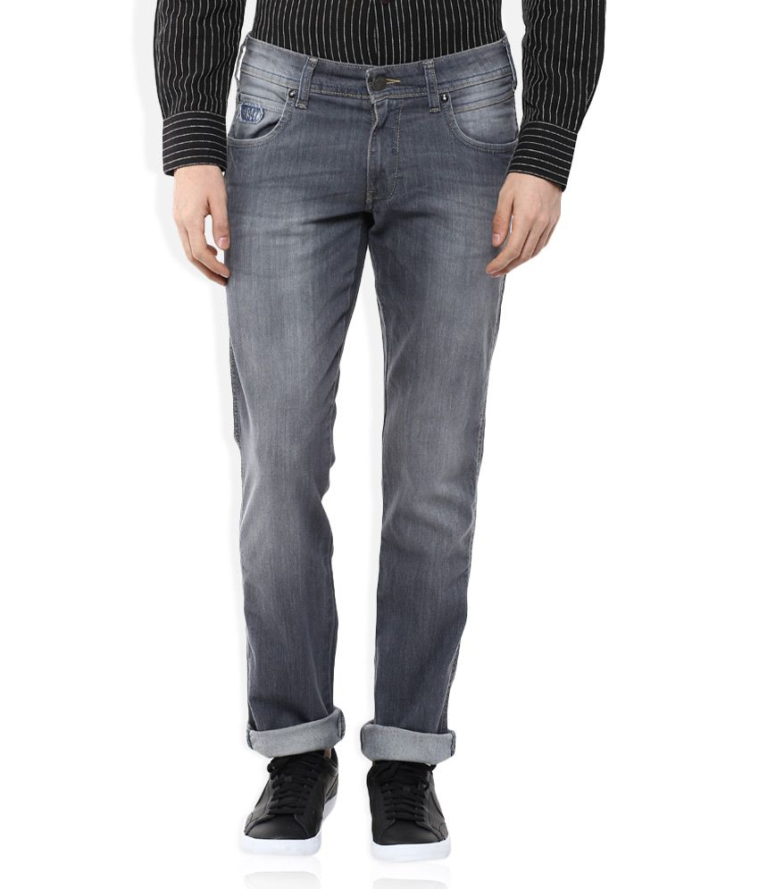 Wrangler Grey Rockville Regular Fit Jeans