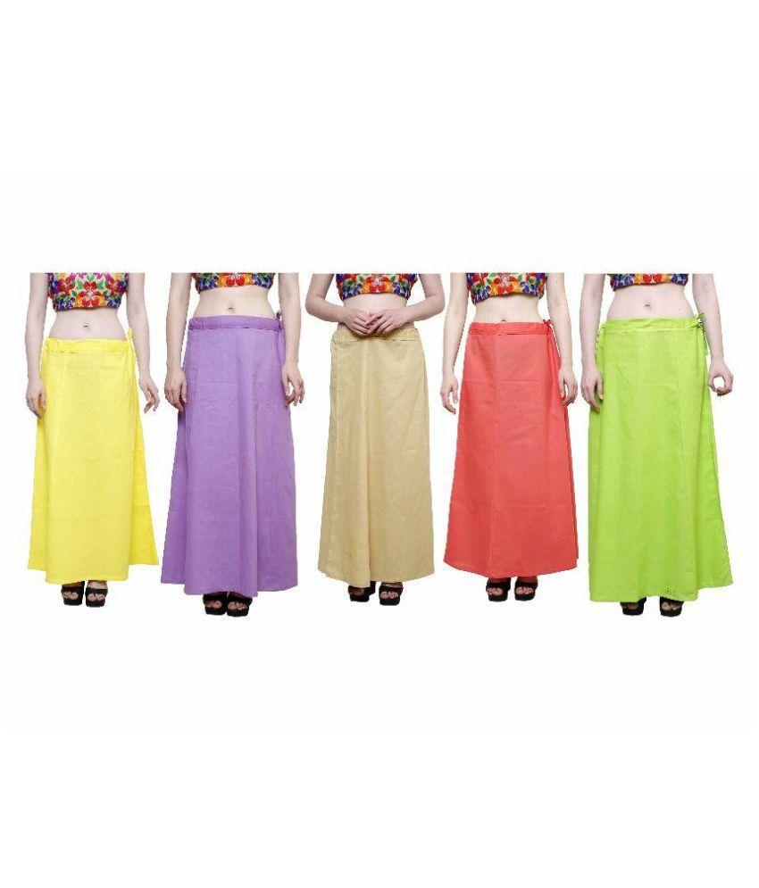 Efashion Multicoloured Cotton Petticoats
