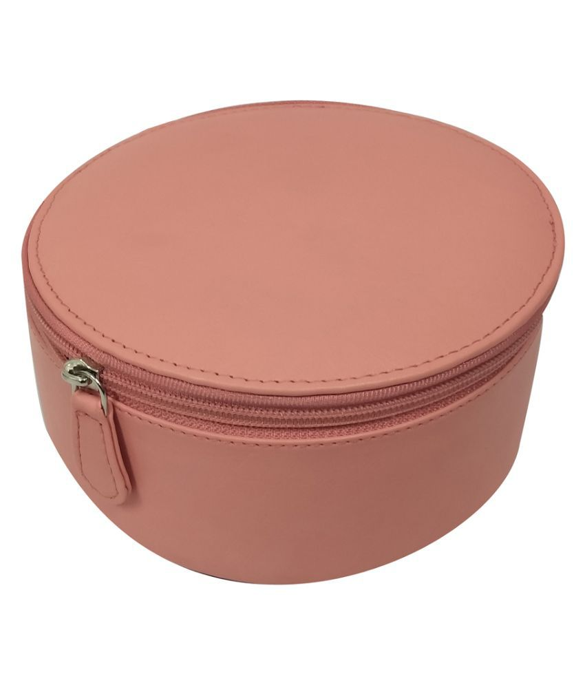 Essart Peach Leather Jewellery Boxes