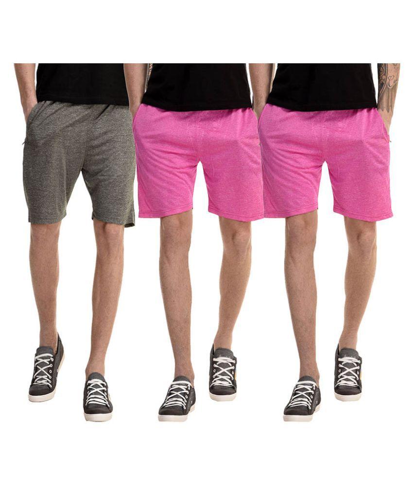 Meebaw Multi Shorts Set of 3