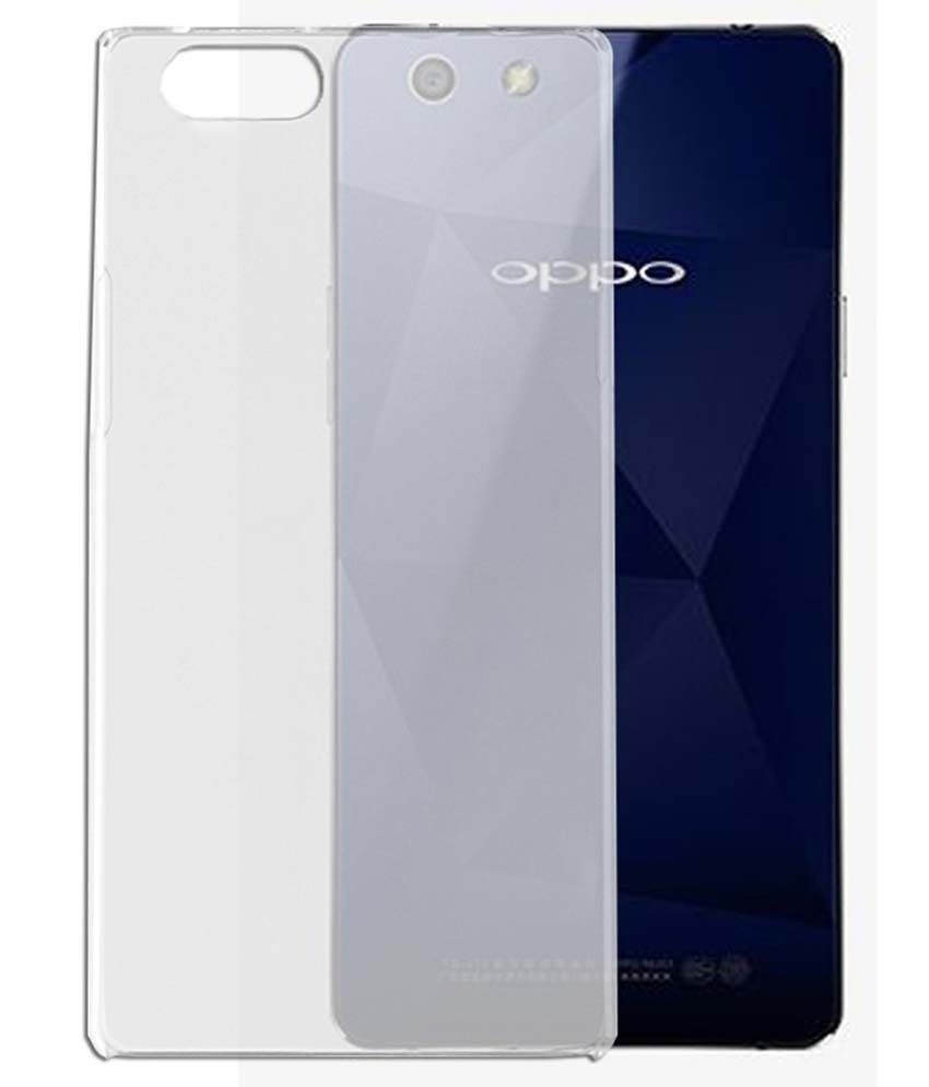 on sale bf5ed 1457d Oppo Neo 5 Transparent Back cover - Plain Back Covers Online at Low ...