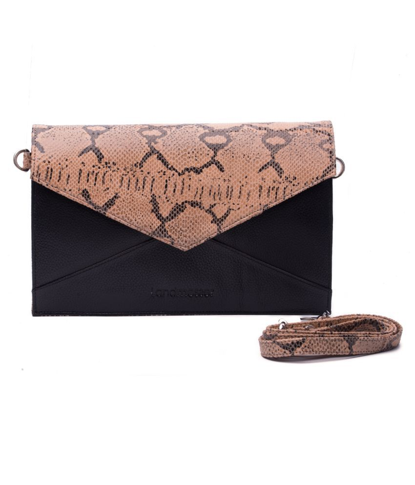 Landmesser Multi Color Pure Leather Sling Bag