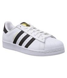 Adidas White Sneaker Shoes