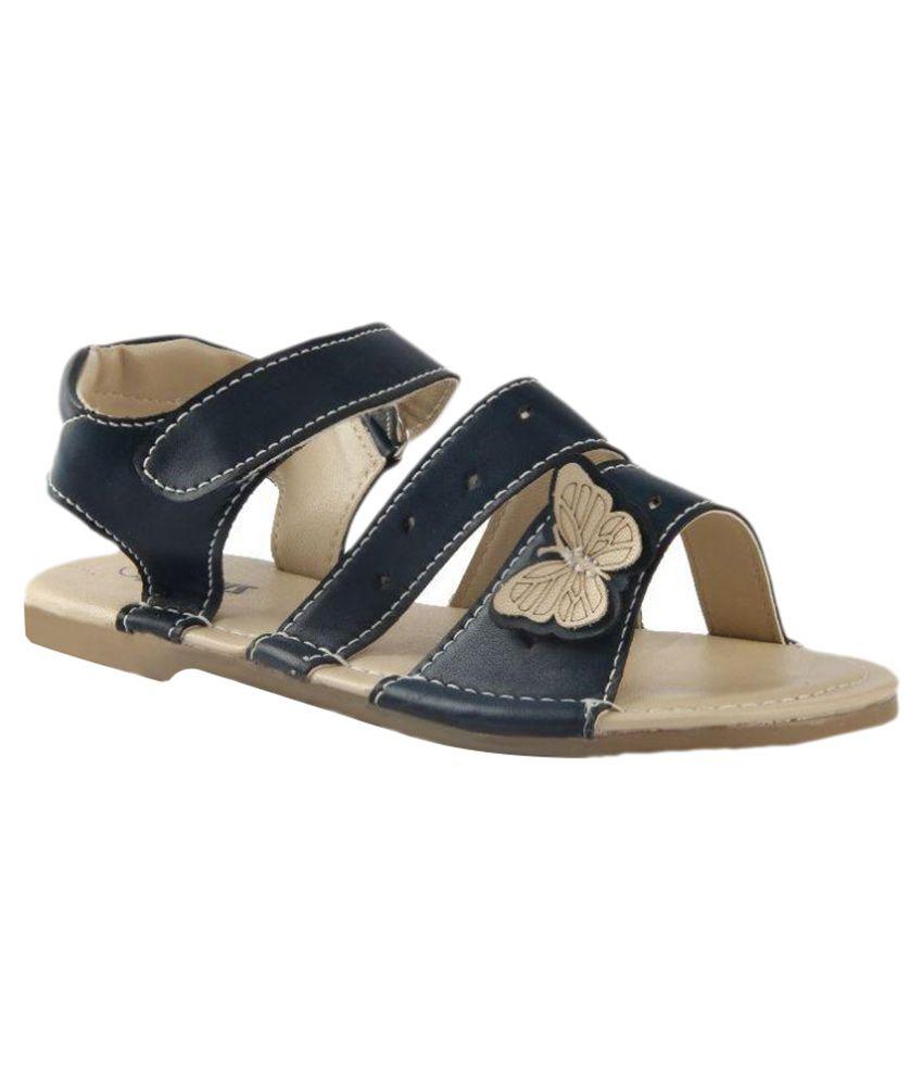 Beanz Navy Sandal