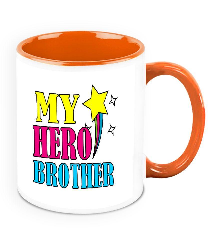Homesogood Bone China Coffee Mug 1 Pcs 325 ml