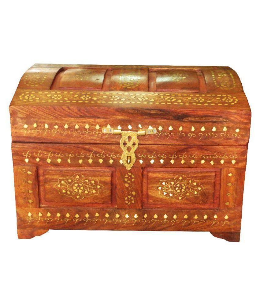 Antiqua V Group Brown Jewellery Box