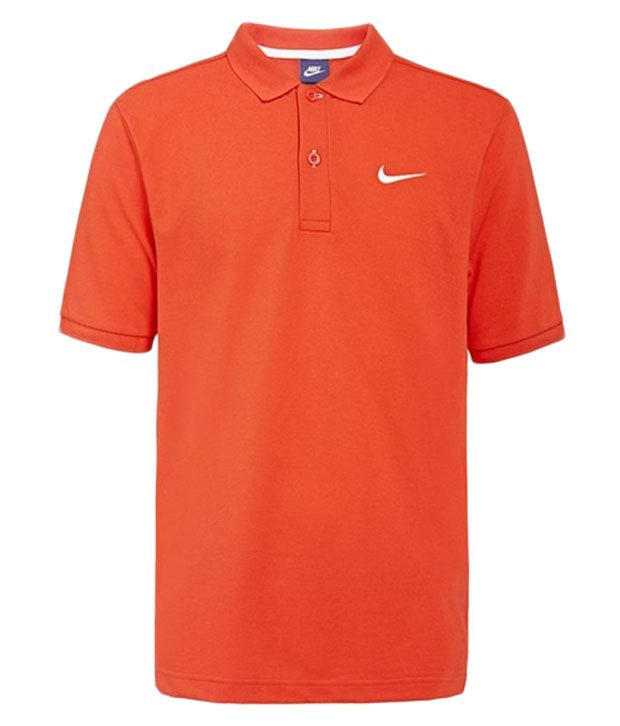Nike Red Match Up Polo for Men