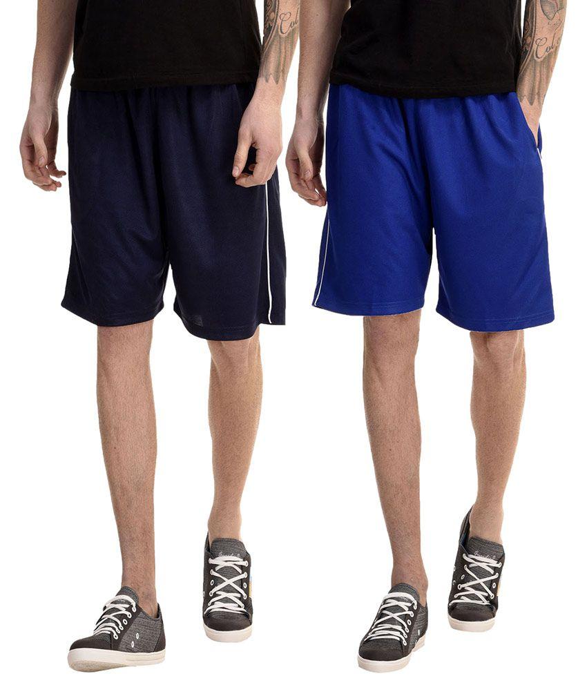 Meebaw Multi Shorts Pack of 2