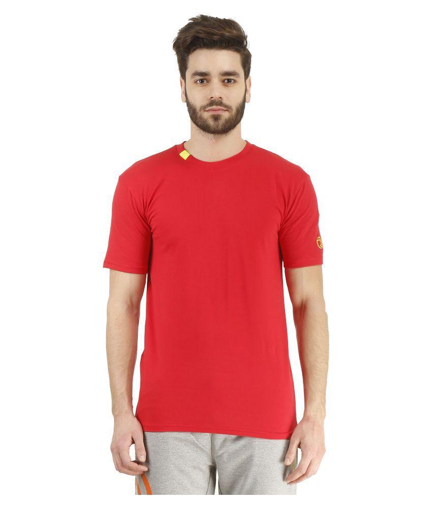 Revo Red Cotton T-Shirt