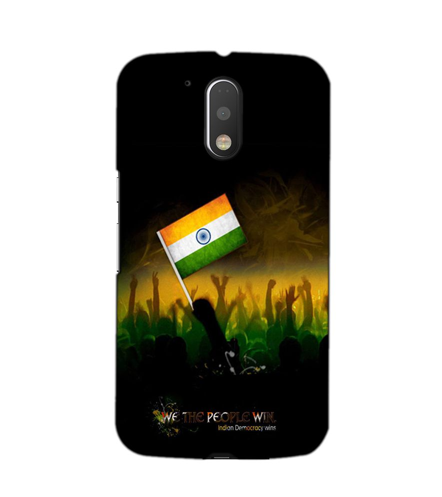 reputable site 2f9d9 1ed10 AKP Sublimation Premium indian flag Designer Back Case Cover for Motorola  Moto G4 Plus -A-2055