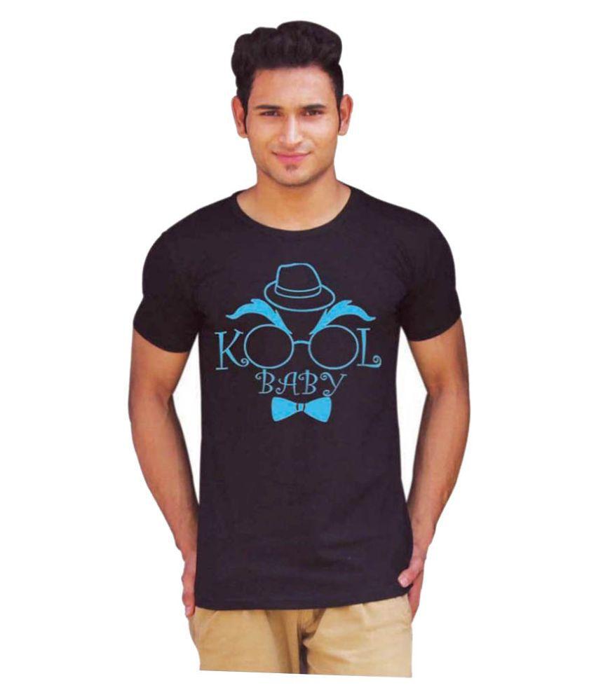 Ciffra Black Round T Shirt
