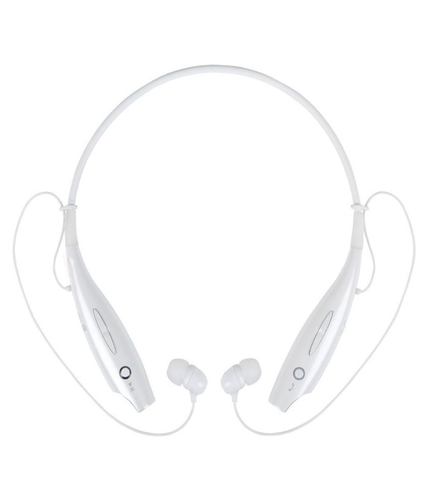 Dashmesh Cases Tone730 In The Ear Wireless Bluetooth Headset with Mic - White