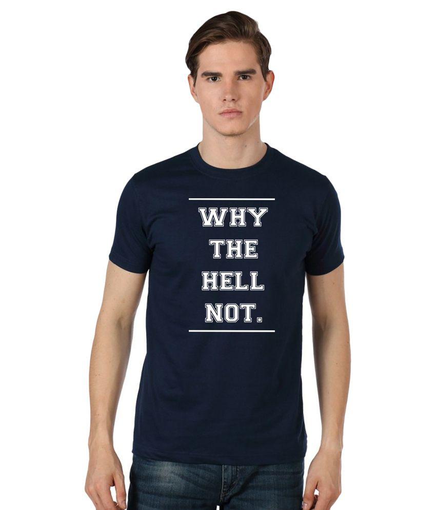 Stylexo Navy Round T Shirt