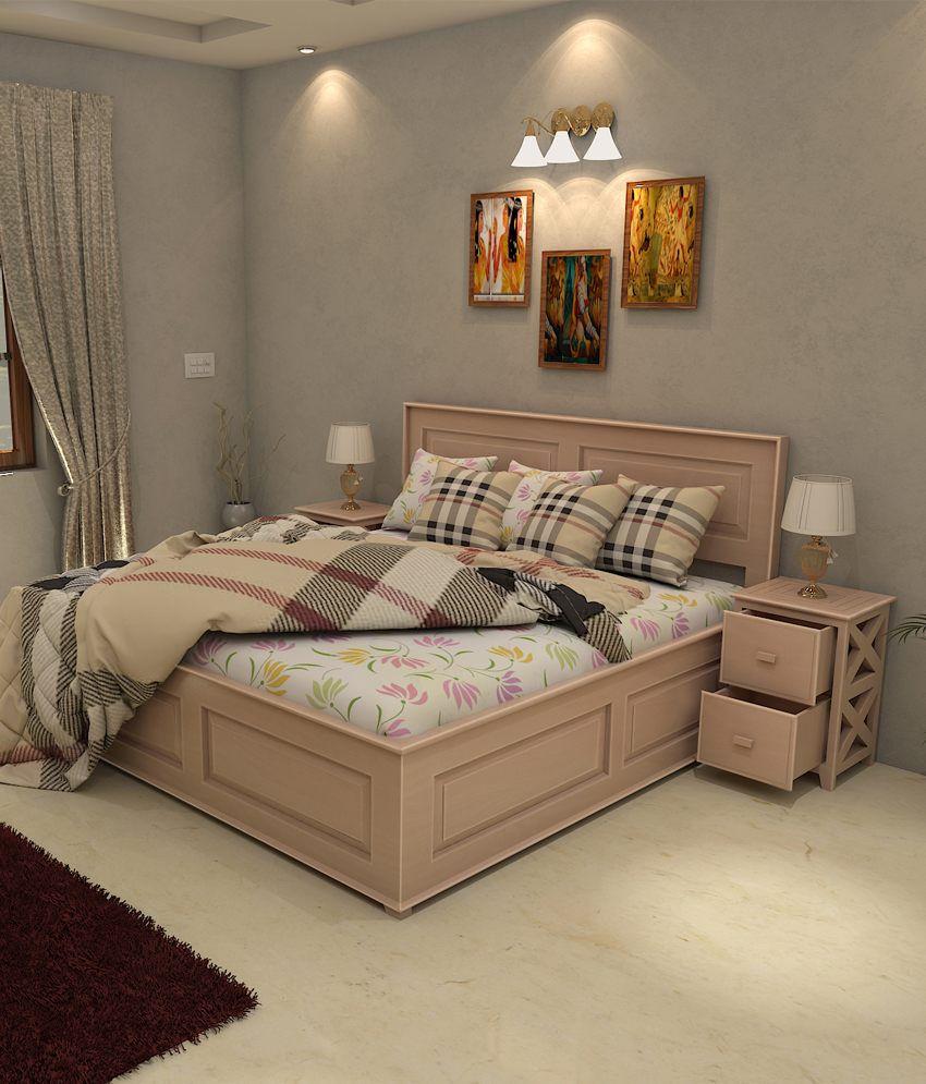Universal Doors Solid Wood King Size Storage Bed - Buy Universal ...