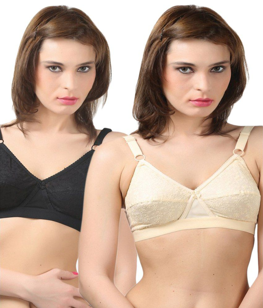 1f2337f922a Buy BODYCARE Black Cotton Bras Online at Best Prices in India - Snapdeal