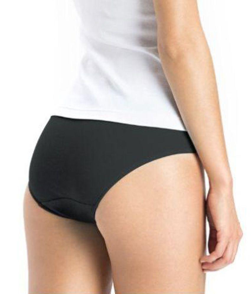 efd3e3c1d3718 Buy Jockey Black Cotton Bikini Panti - Pack of 6 Online at Best ...