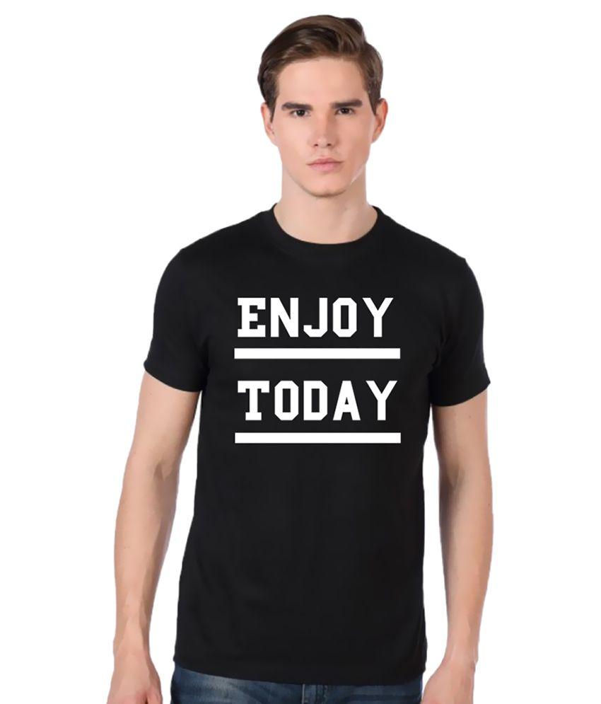 Stylexo Black Round T Shirt