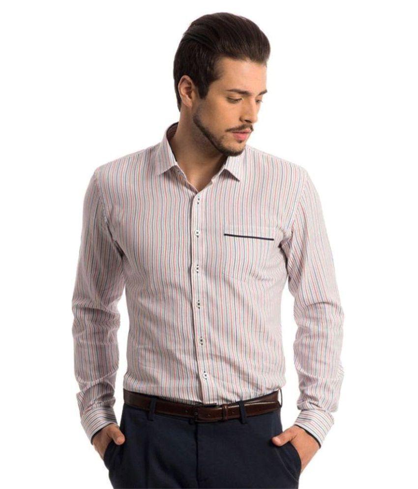 Specimen Multi Formal Slim Fit Shirt