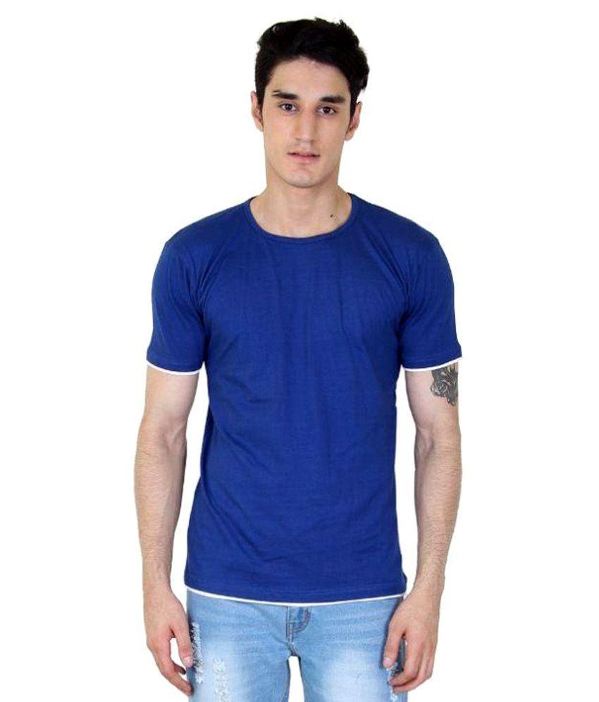 Fenoix Blue Round T Shirt