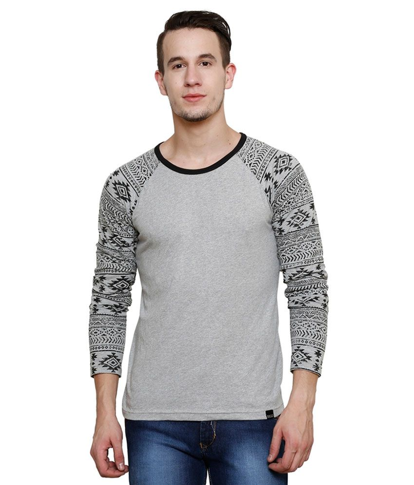 Rigo Grey Round T Shirt