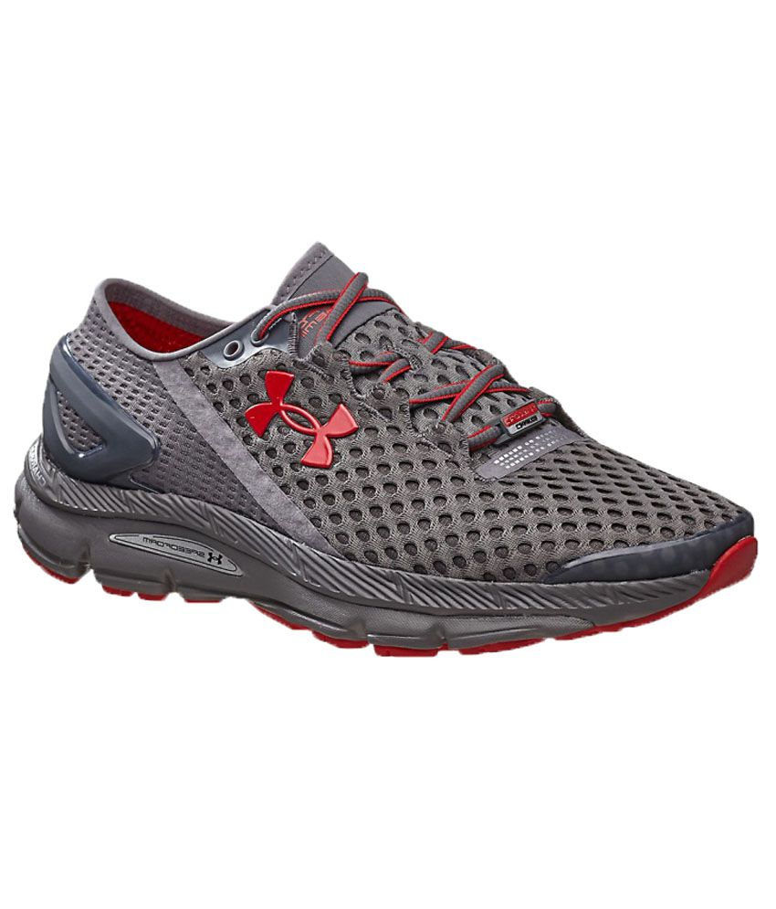 uk availability 6760b 22123 Under Armour Speedform Gemini 2 Gray Running Shoes  Buy Online at Best  Price on Snapdeal