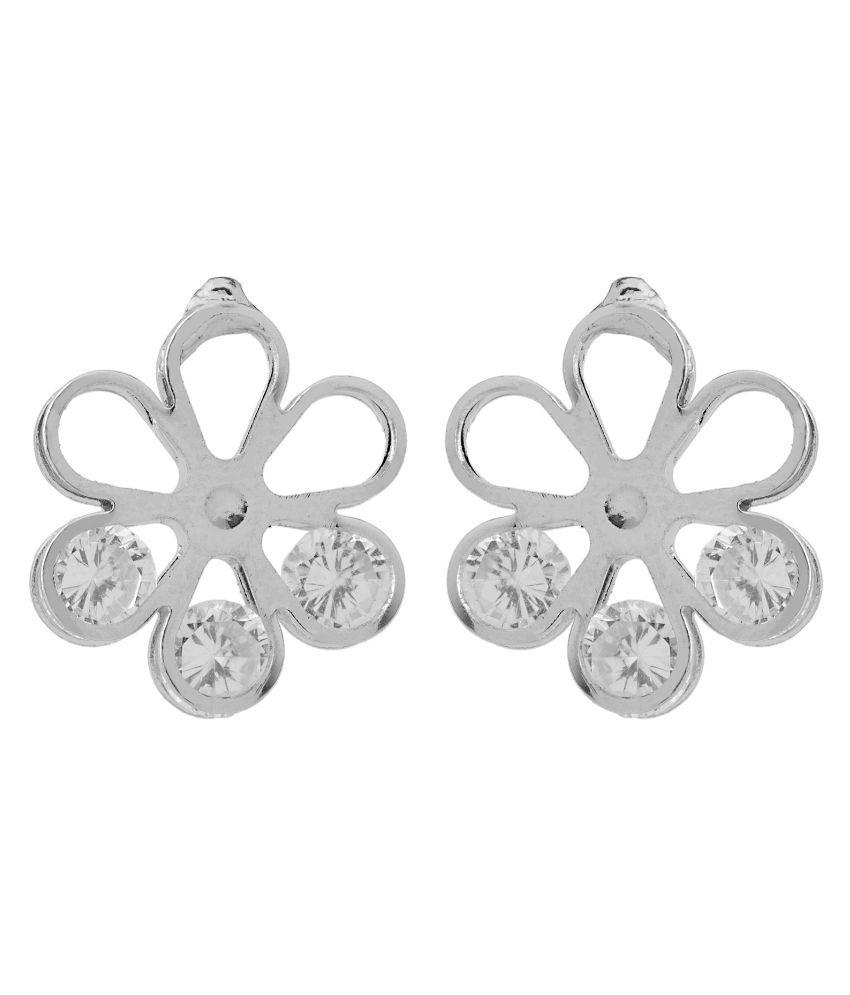 Gioiabazaar Silver Stud Earrings