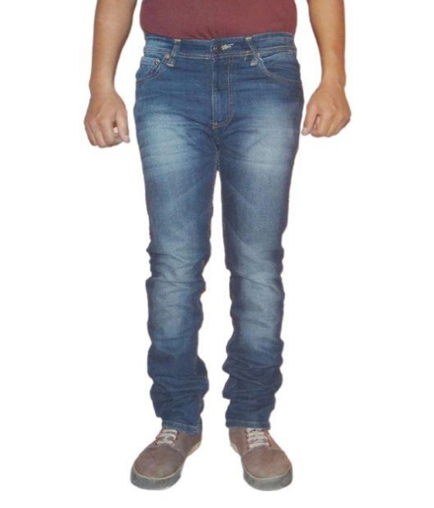 Levis 511 Blue Slim Fit Faded Jeans Pack of 2
