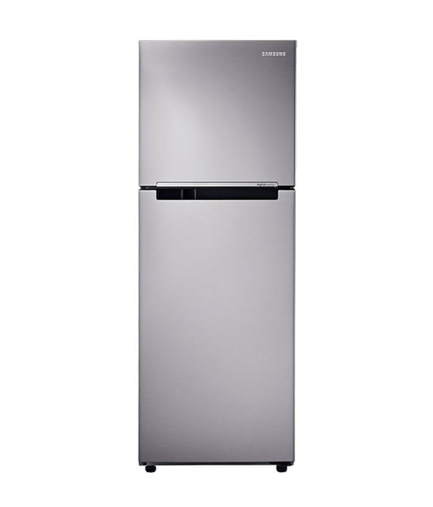 Samsung 251 Ltrs RT28K3082S8/HL Frost Free Double Door Refrigerator Elegant Inox