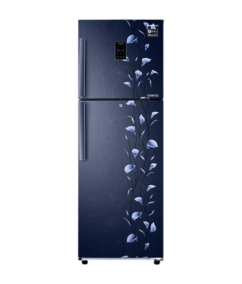 Samsung 253 Ltrs RT30K3983UZ/HL Frost Free Double Door Refrigerator Tender Lily Blue