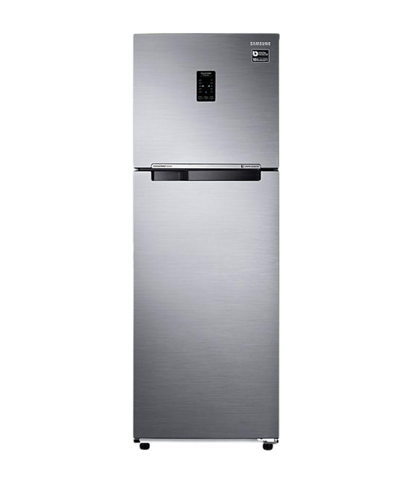 Samsung 322 Ltrs RT37K3763S9/HL Frost Free Double Door Refrigerator Refined Inox