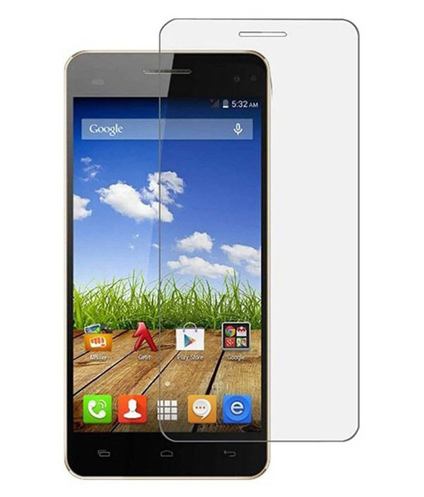 Wow Tempered Glass Screen Guard for Micromax Canvas Fire 4G Plus Q411