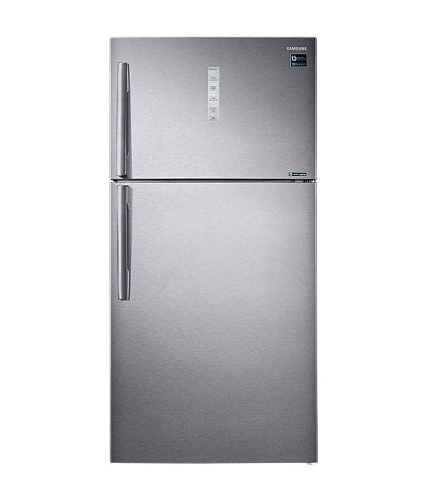 Samsung 585 Ltrs RT61K7058SL/TL Frost Free Double Door Refrigerator Easy Clean Steel