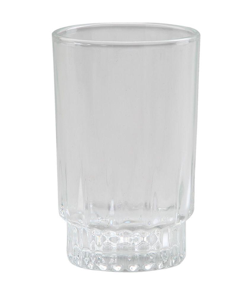 @Home By Nilkamal Transparent Glass - 6 Piece
