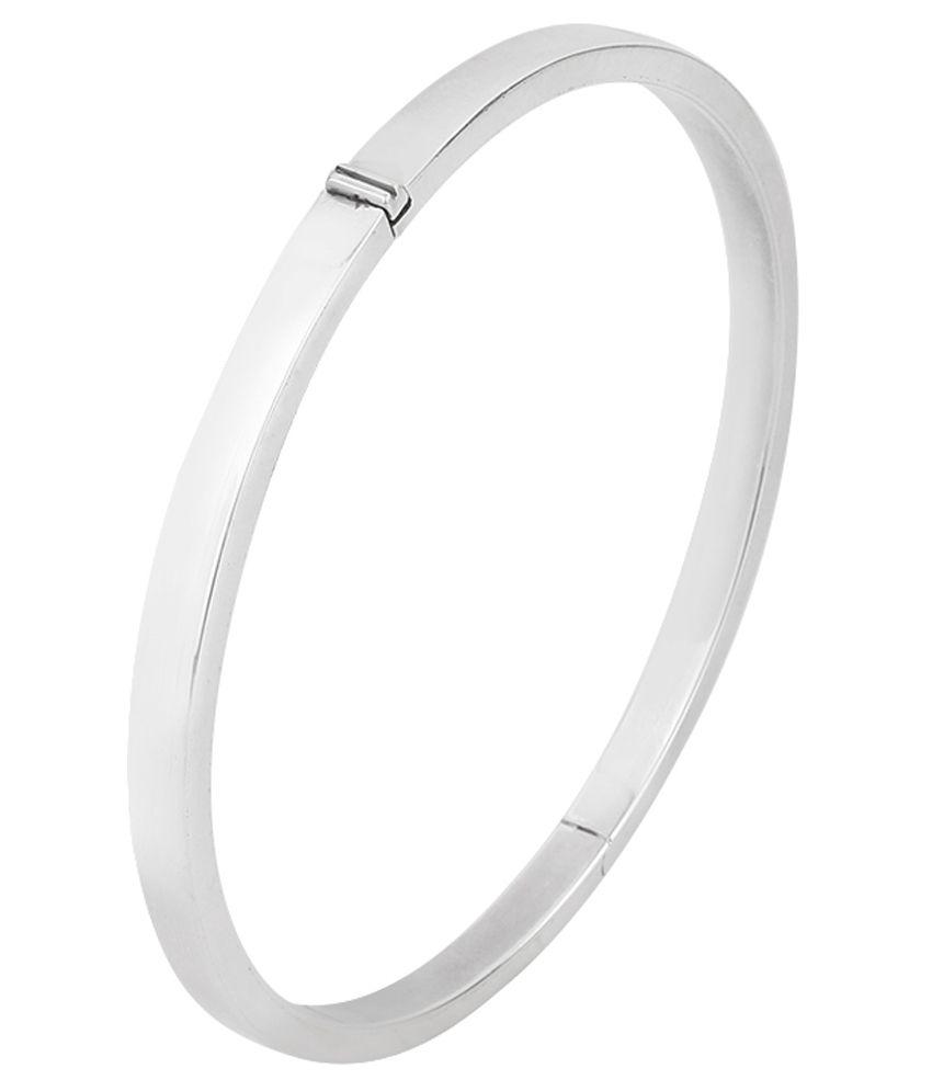 Jewel99 Silver Kada