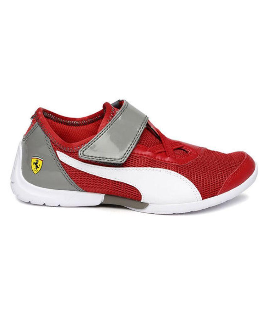 Puma Red Ferrari Future Cat SuperLT SF EVO V Casual Shoes Price in ... b35dfa6d5