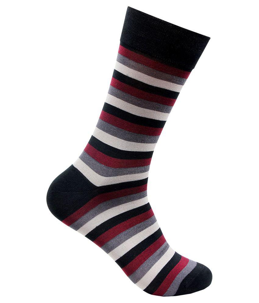 Bonjour Multicolour Cotton Socks for Men