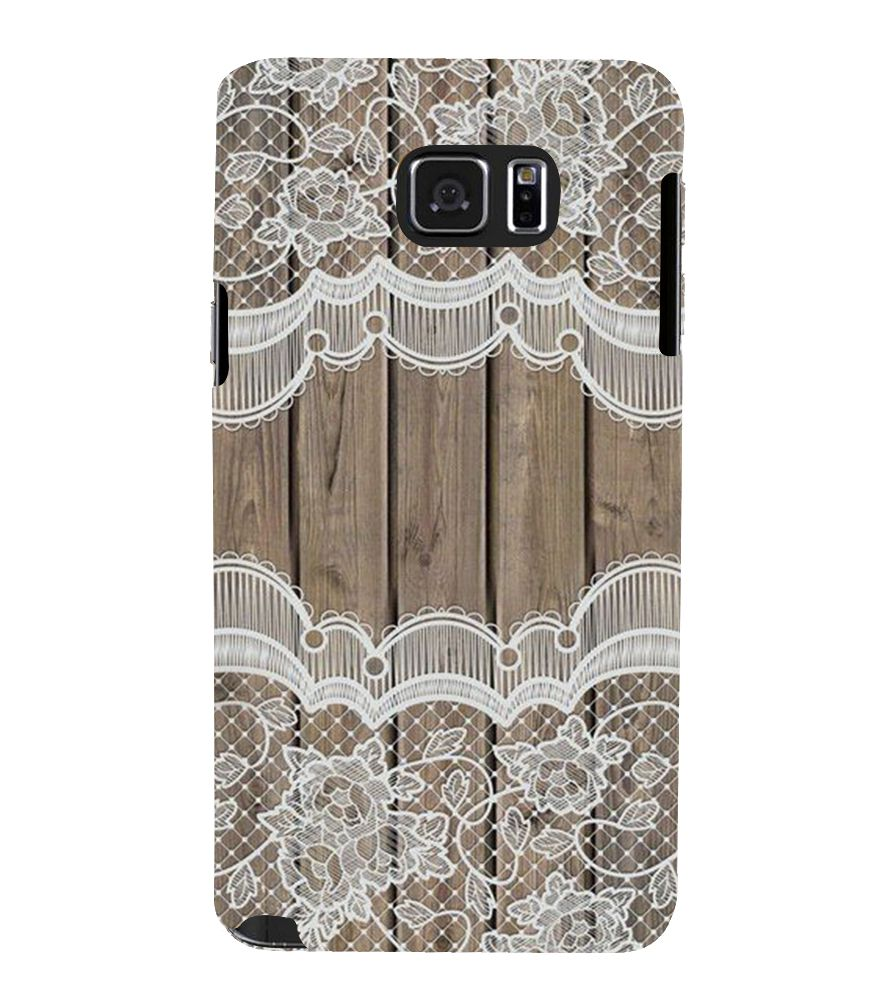 new concept b1340 e3609 Fiobs net pattern on wood Back Case Cover for Samsung Galaxy Note 5