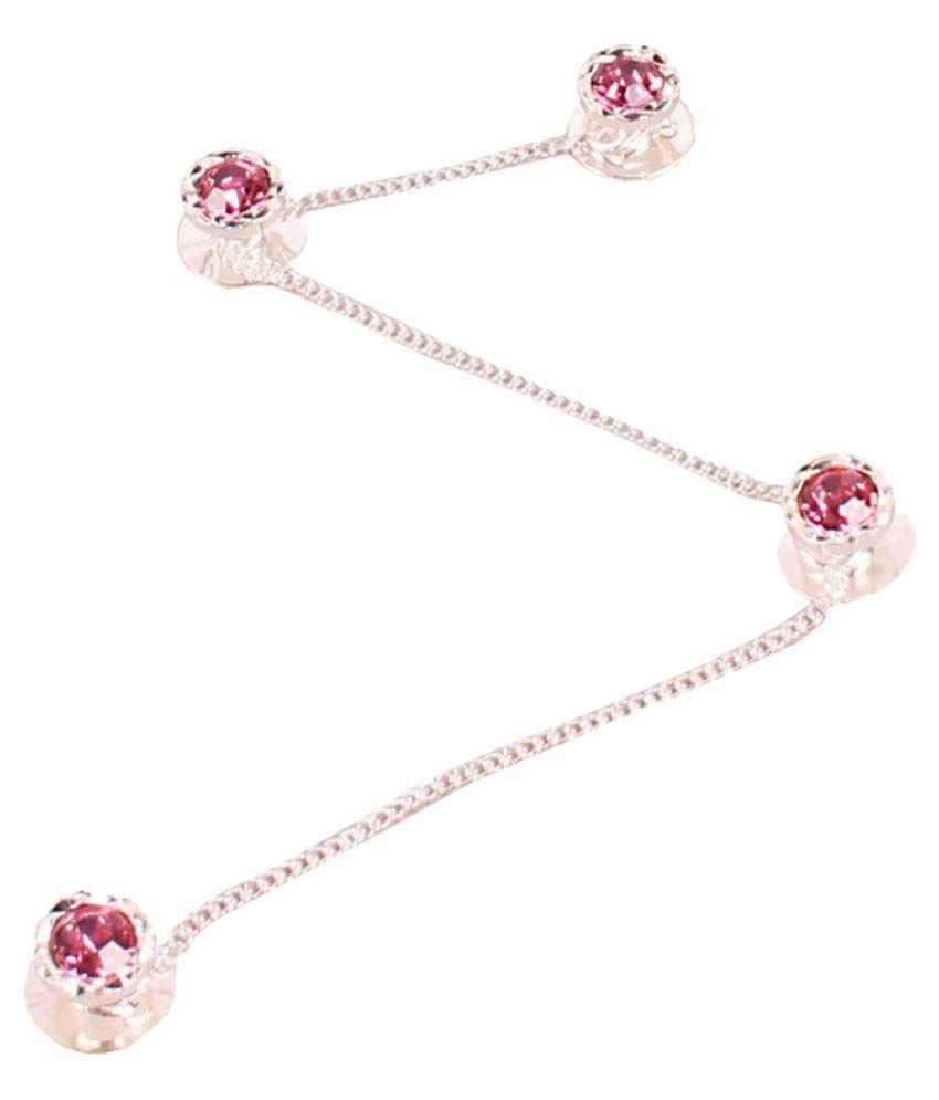 Sushito Pink Crystal Kurta Buttons
