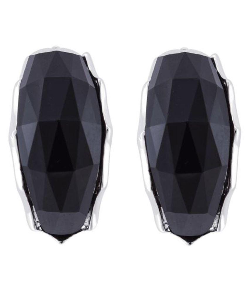 Jazz Jewellery  Black Stud Earring
