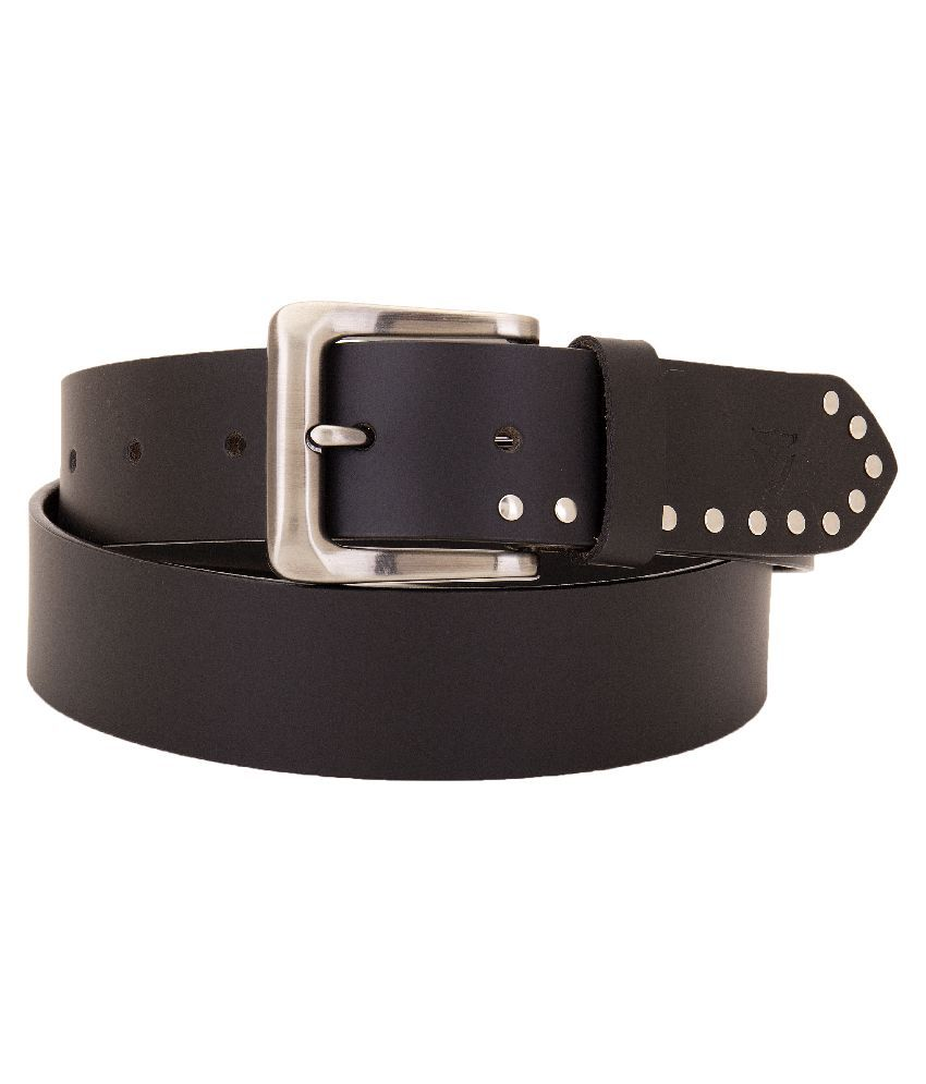 Valbone Brown Leather Belt