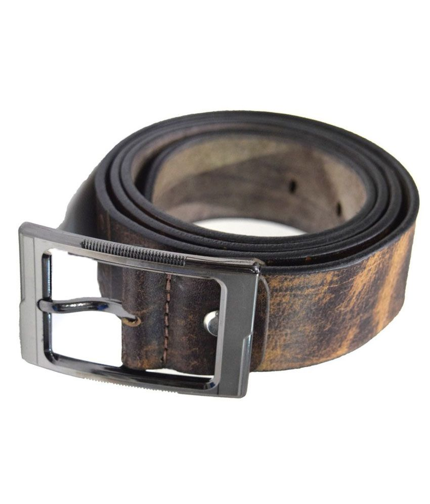 Moochies Brown Leather Belt