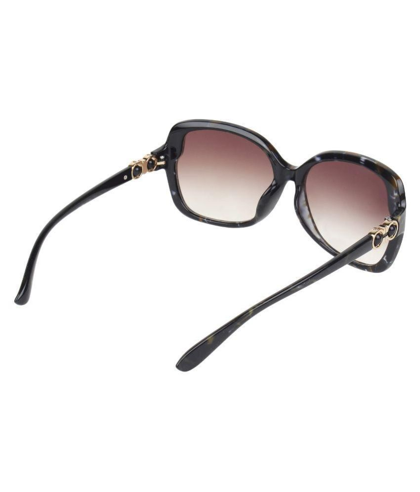 46fb5464c46 Zyaden Black Oversized Sunglasses ( SW307 ) - Buy Zyaden Black ...