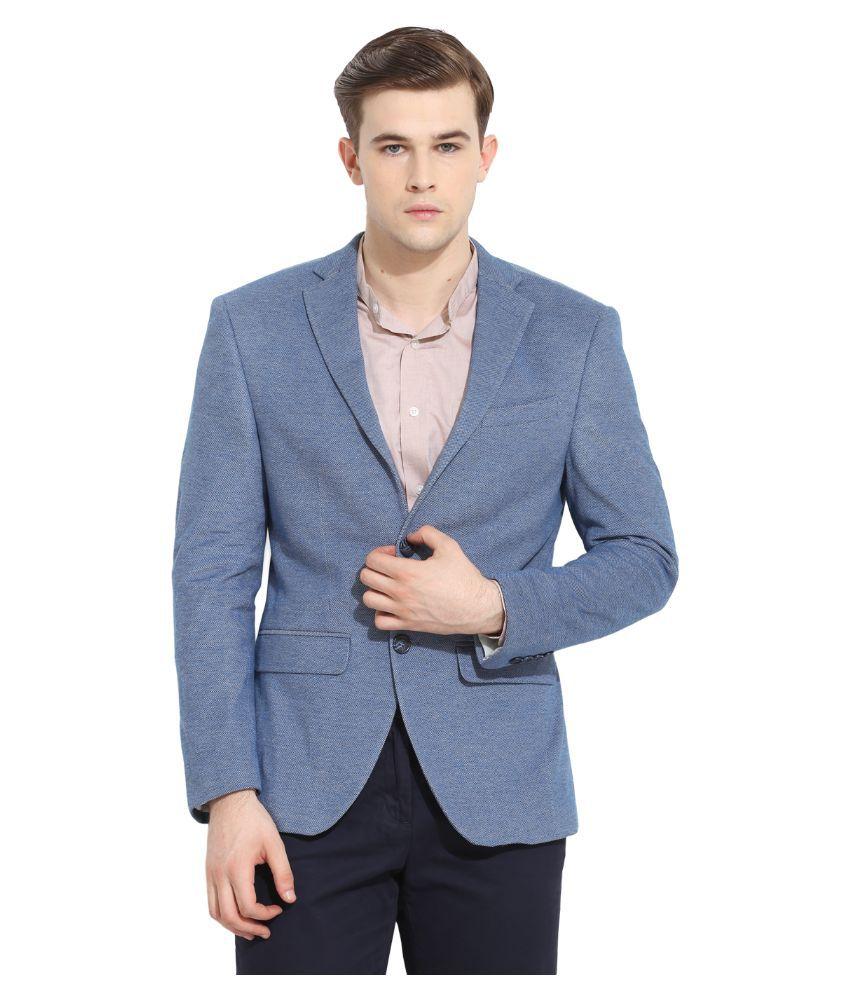 Envoy Blue Casual Suits
