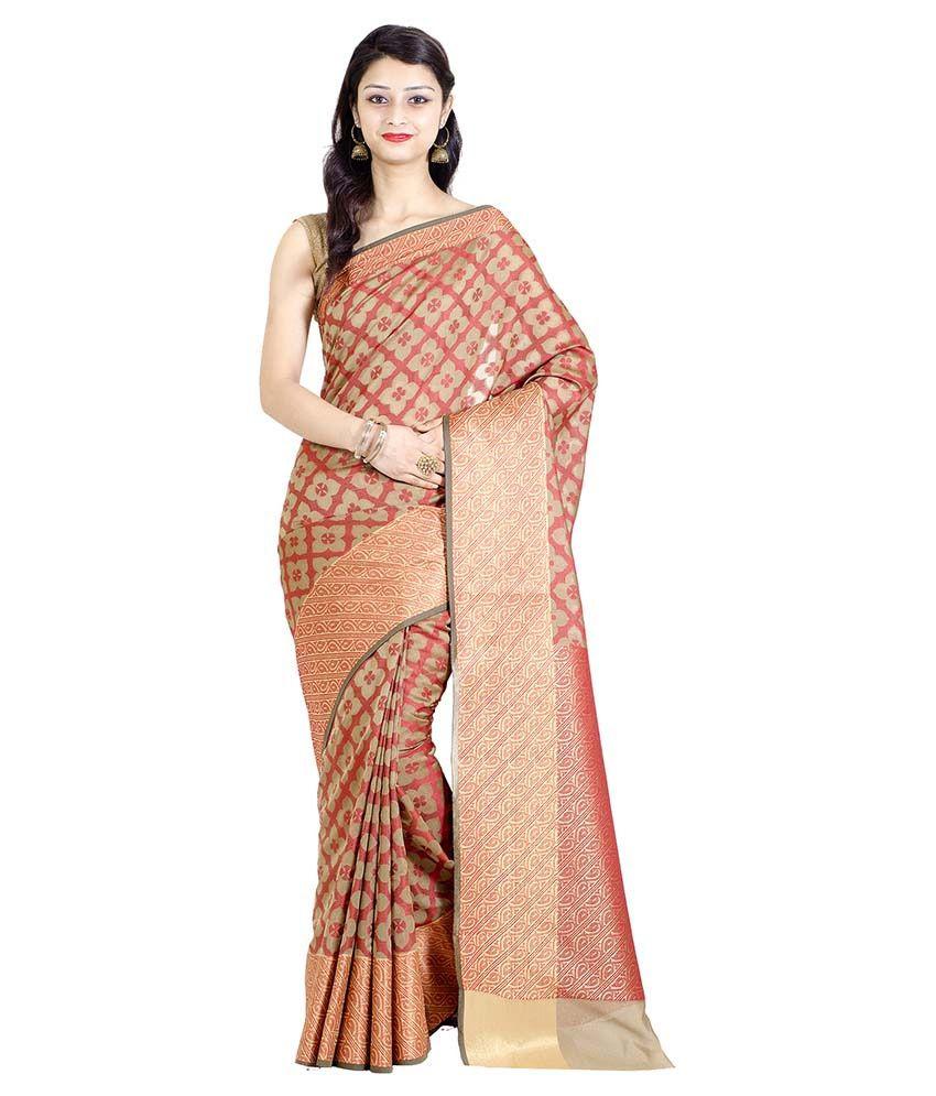 Chandrakala Multicoloured Cotton Silk Saree